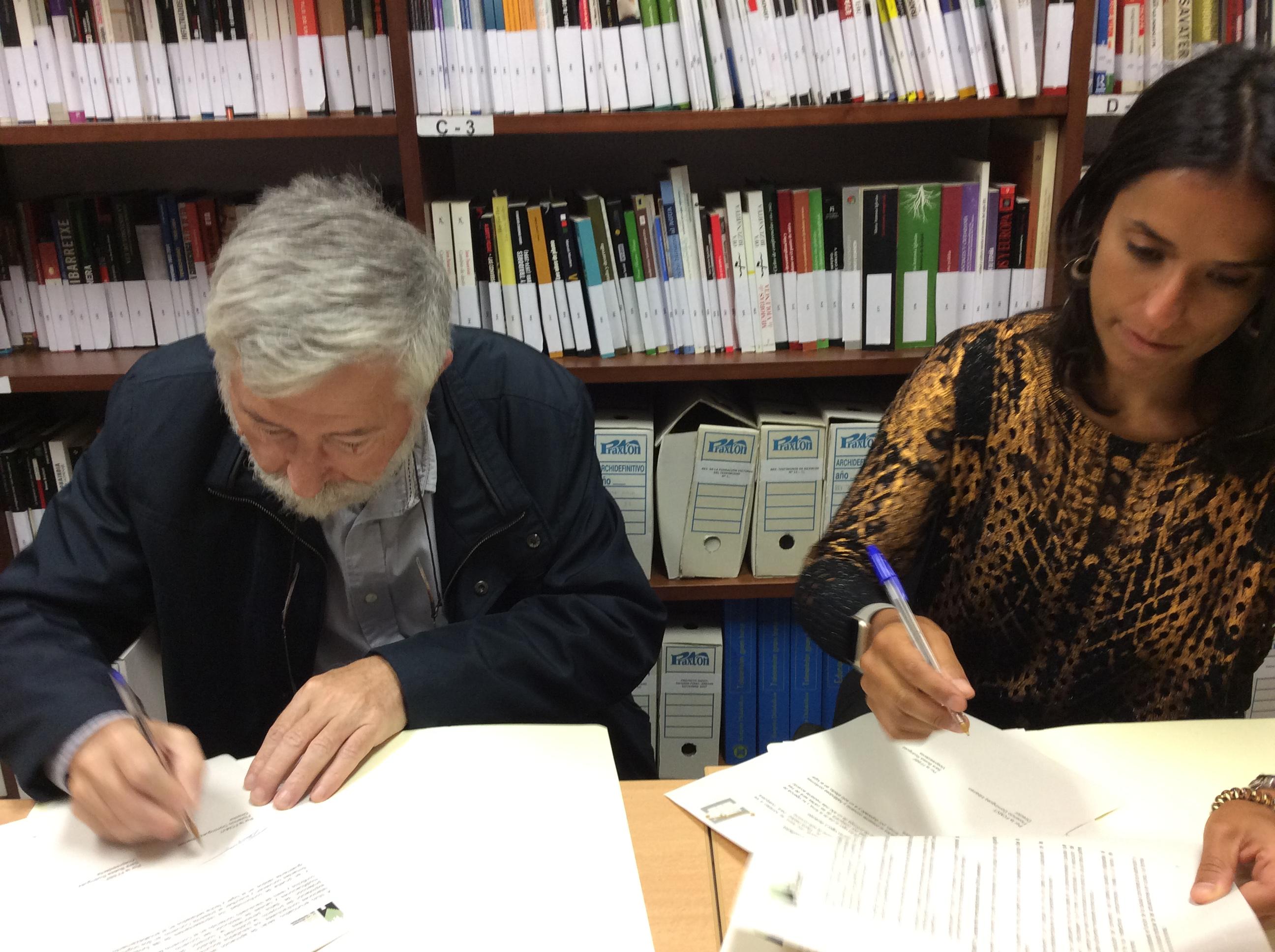Firma De Convenio Marco Con La Fundación Fernando Buesa Fundazioa