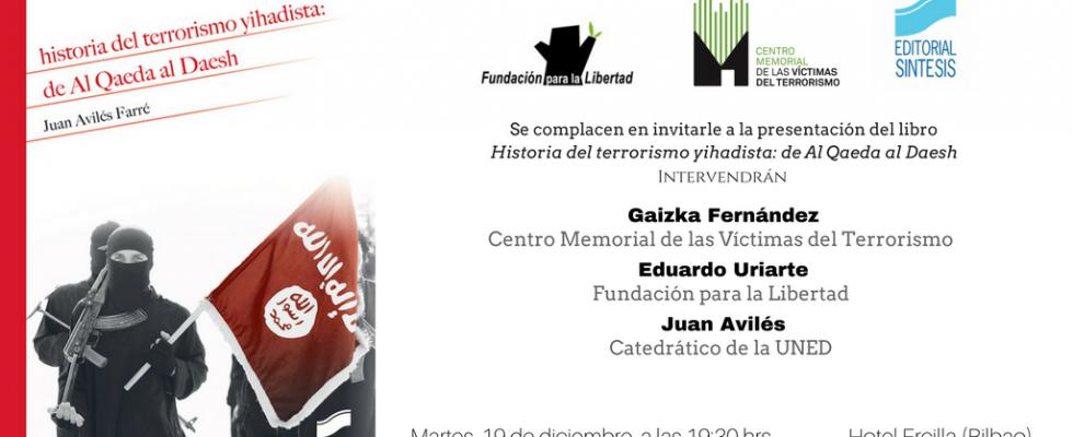"""19-D: Presentación De """"Historia Del Terrorismo Yihadista"""" De Juan Avilés"""