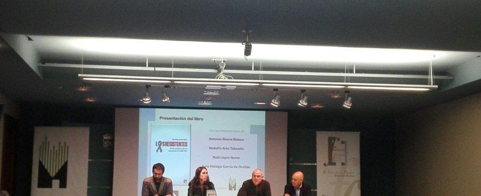 """Presentación En Vitoria Del Libro De Sara Hidalgo """"Los Resistentes"""""""