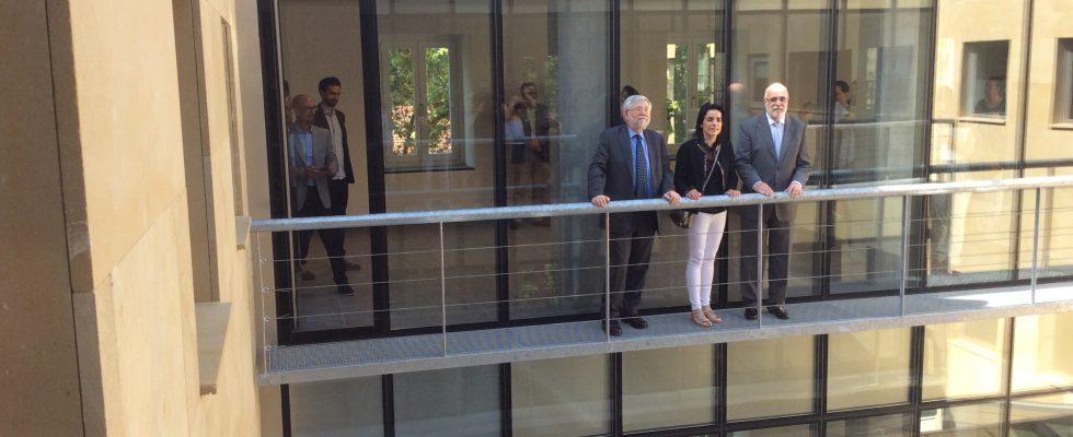 Visita Al Memorial Del Nuevo Delegado Del Gobierno En Euskadi