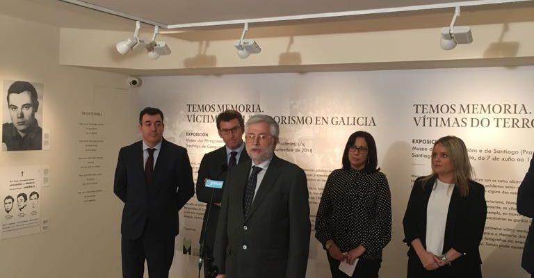 Exposición En Santiago Dedicada A Pardines Y Víctimas Gallegas De Todos Los Terrorismos