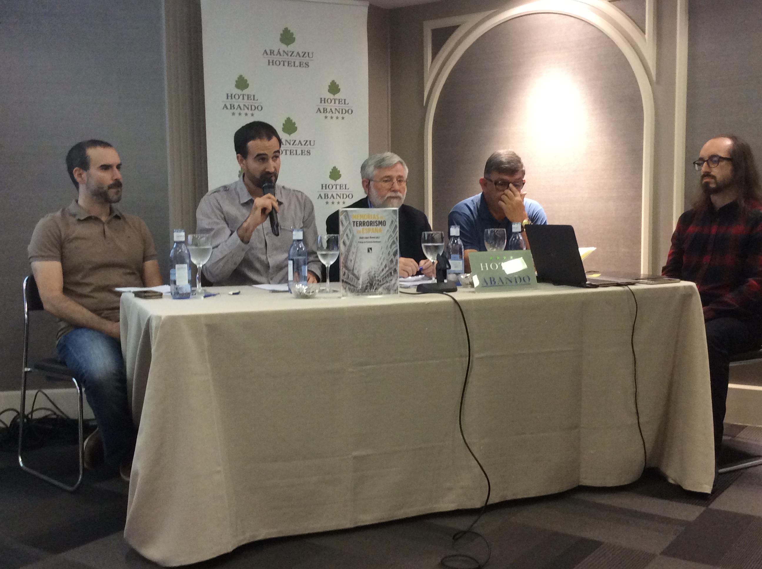 """Presentación En Bilbao De """"Memorias Del Terrorismo En España"""""""