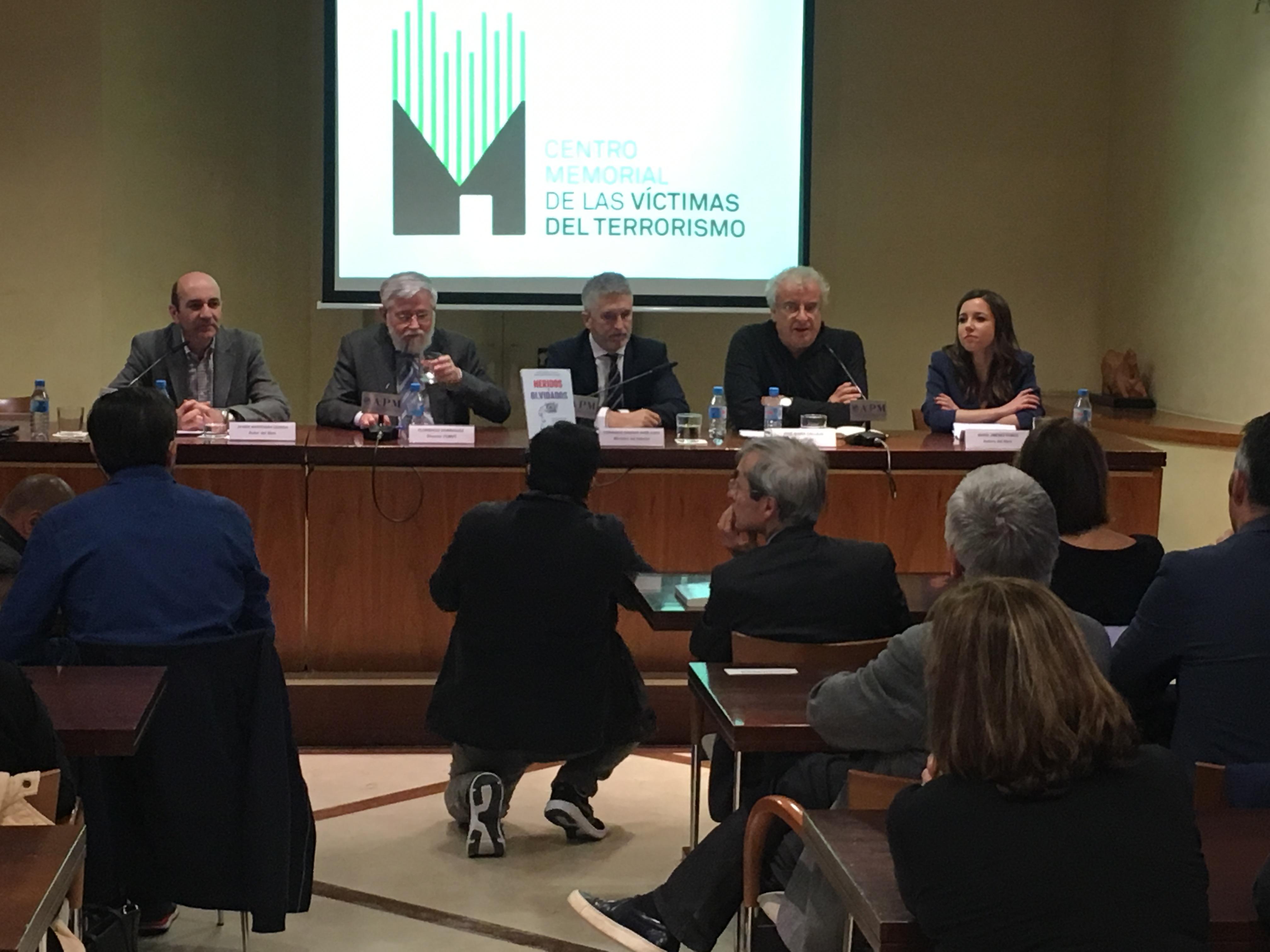 Presentación En Madrid Del Primer Libro Sobre Los Heridos En Atentados Terroristas