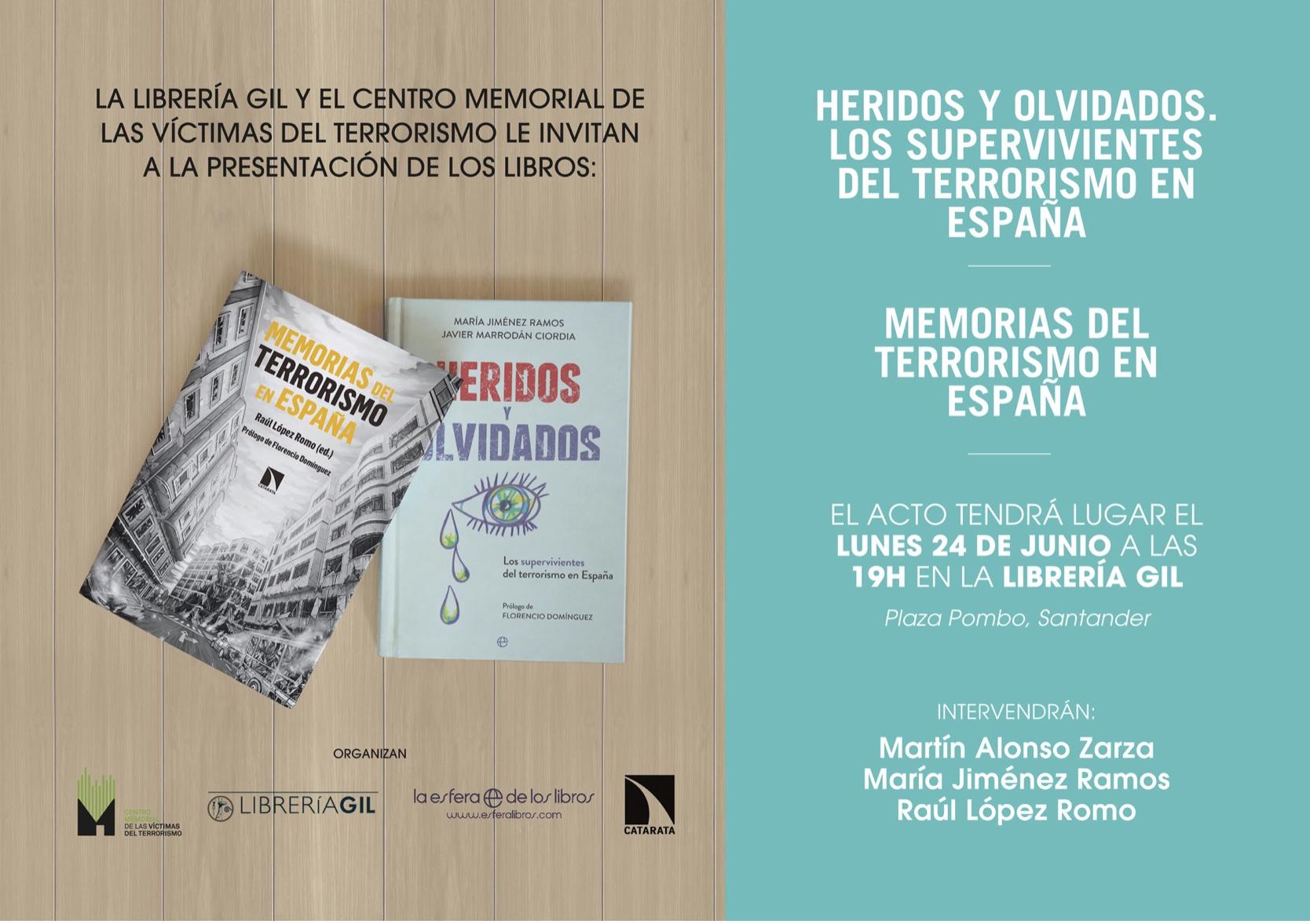 Presentación De Dos Libros Del Memorial En Santander