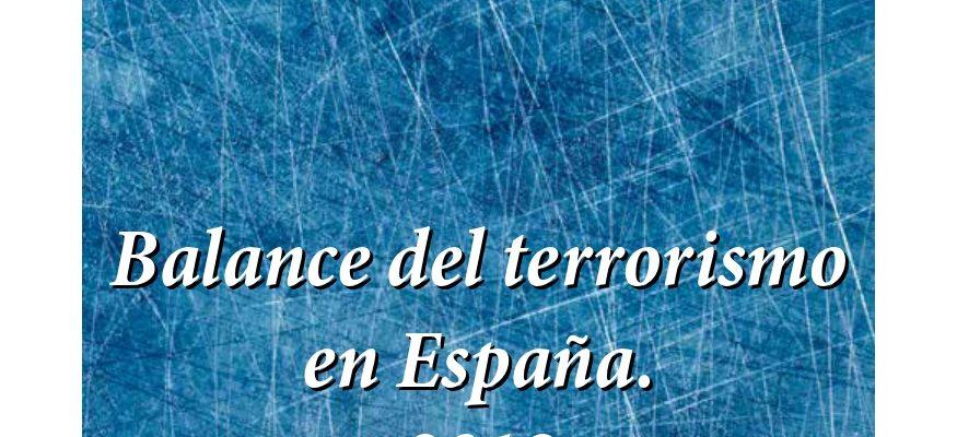 El Centro Memorial Edita El Balance Del Terrorismo En España En 2018