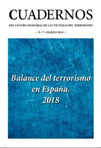Cuaderno 7. Balance del terrorismo en España