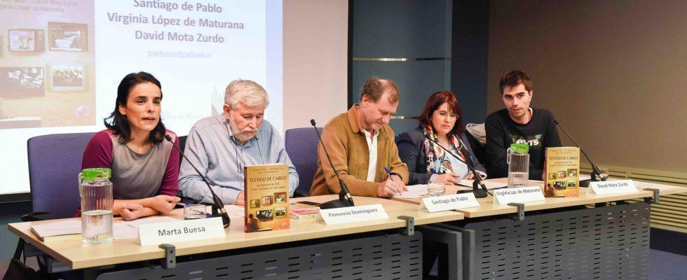 """Vídeo De Presentación En Vitoria De """"Testigo De Cargo"""" Con La Fundación Fernando Buesa"""