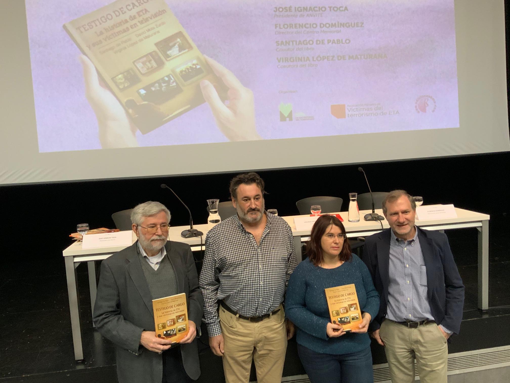 """Presentación En Pamplona Con ANVITE De """"Testigo De Cargo"""""""