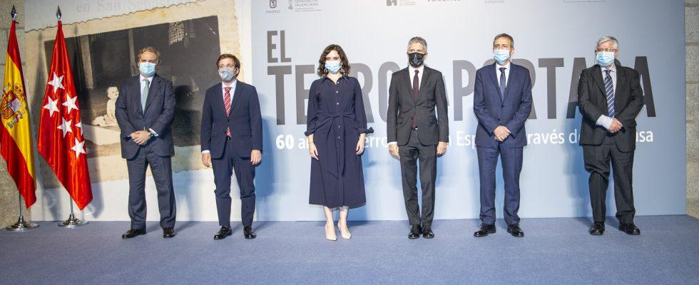 """Inaugurada En Madrid La Exposición """"El Terror A Portada"""""""