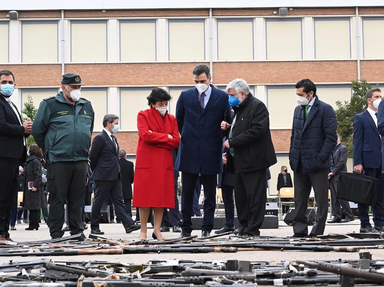 La Foto De La Derrota Del Terrorismo En Un Colegio De La Guardia Civil